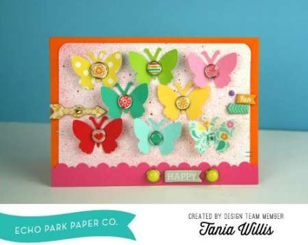 Project: Butterfly Punch Card