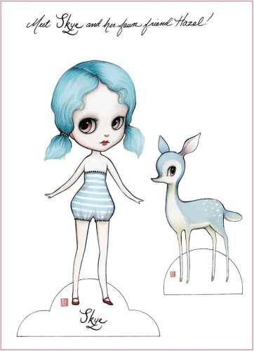 Freebie: Paper Dolls