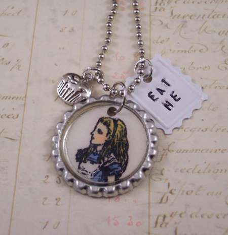 Project: Stamped Charm Necklace