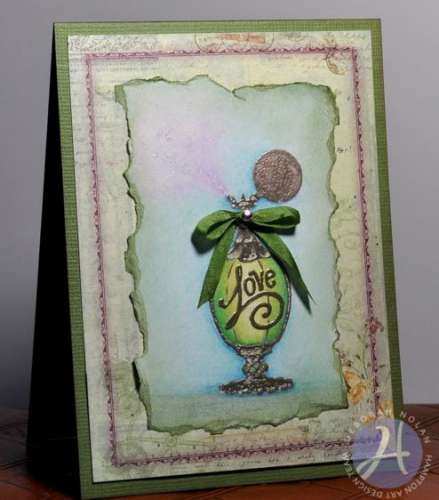 Project: Perfume Bottle Card