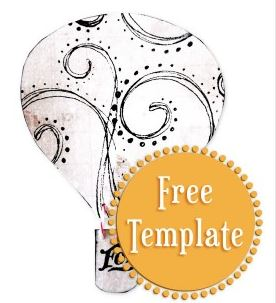 Freebie: Hot Air Balloon Template