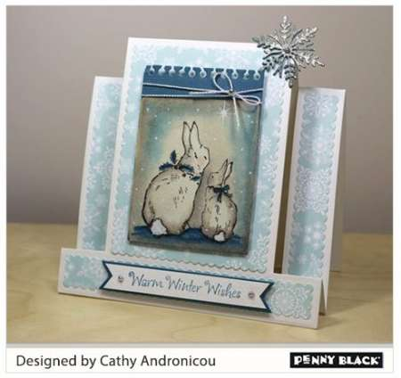 Project & New Release: Penny Black Holiday Stamps