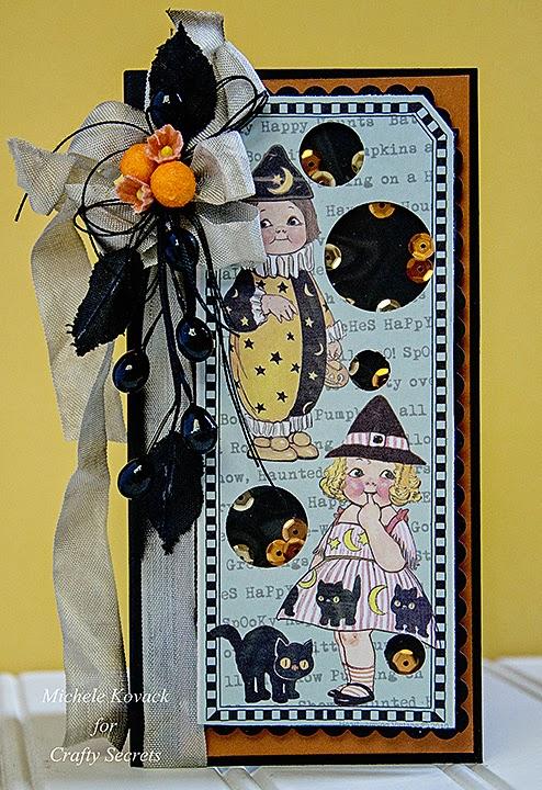 Project: Halloween Shaker Card