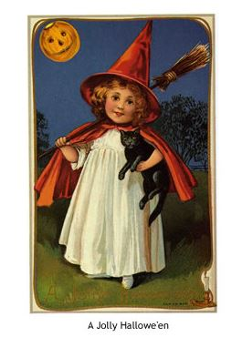 Freebie: Vintage Halloween Postcards