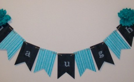 Product Review: Stampin' Up Chalkboard Banner