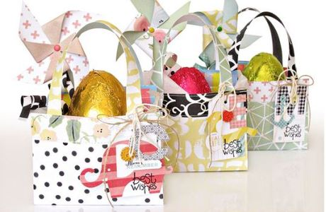 Project: Paper Easter Bag