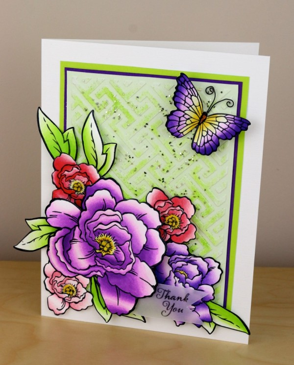Project: Bright Floral Card
