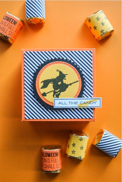 Giveaway: A Muse Studio Halloween Stamp Set