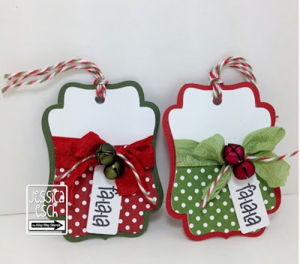 8 more stamped christmas gift tags stamping for Christmas tags on pinterest
