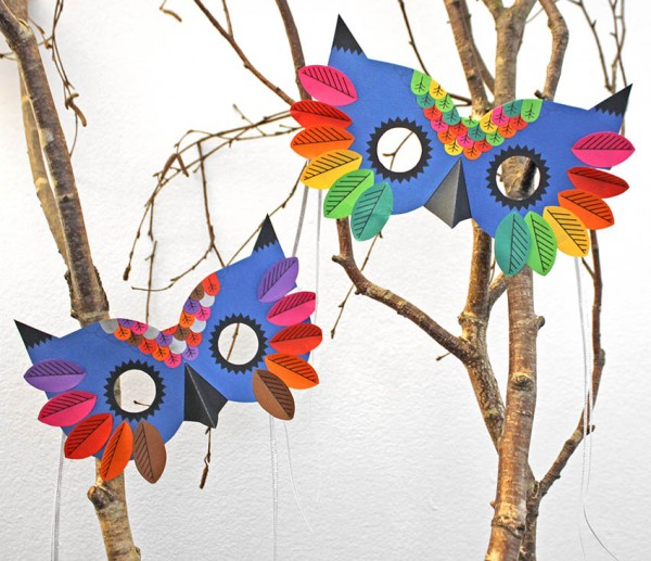 Freebie: Fall Owl Masks