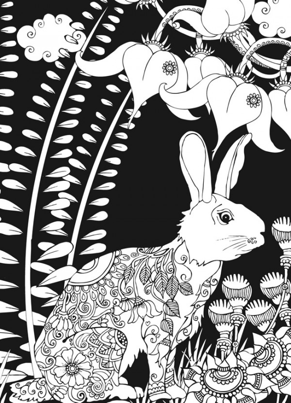 Freebie: Forest Coloring Pages