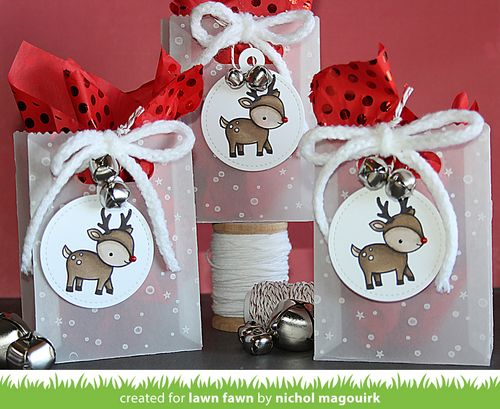 Project: Vellum Gift Bag and Tag