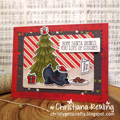 Project: Christmas Cookies Card