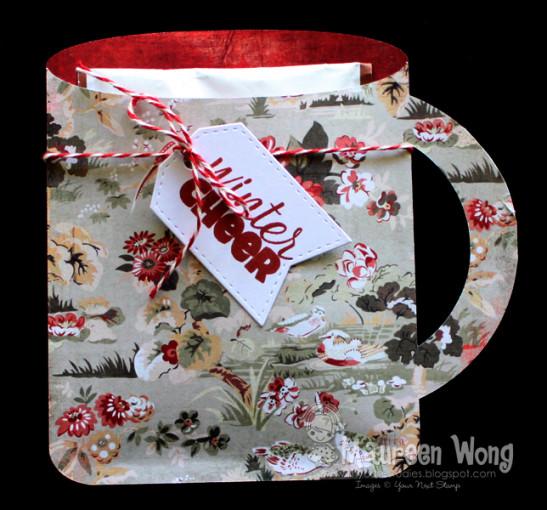 Freebie and Project: Winter Mug Card