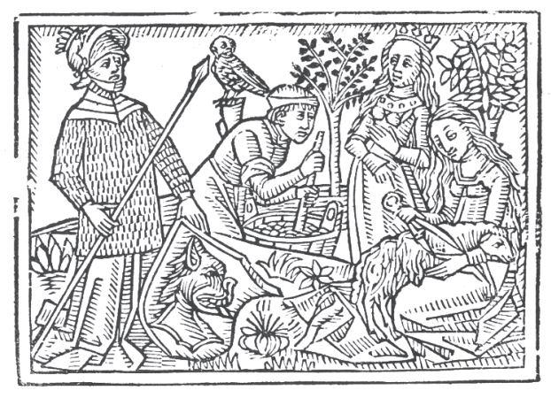 Freebie: Medieval Coloring Page