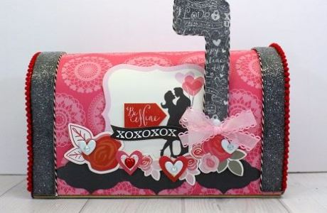 Project: Decorated Valentine Mailbox