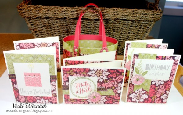 Project: Paper Purse Card Holder Gift Set
