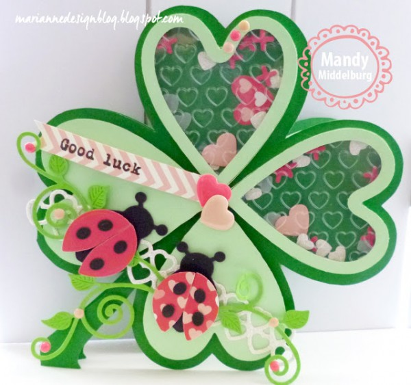 Project and Template: Good Luck Clover Card