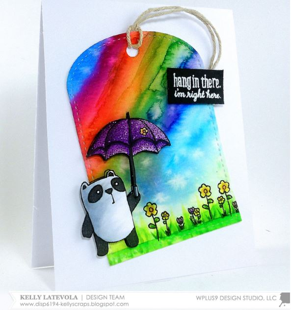 Project: Rainbow Panda Card
