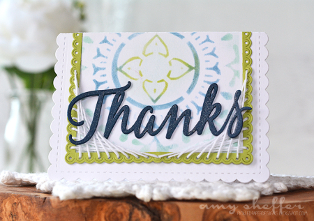 Projects: String Art Greeting Cards with Die Cuts