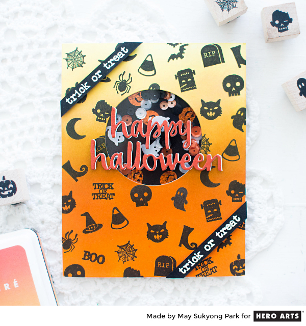 Project: Halloween Shaker Card