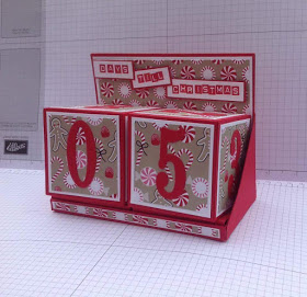 Project: Paper Cube Advent Calendar