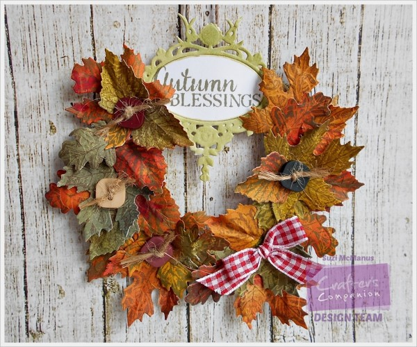 Project: Paper Fall Wreath