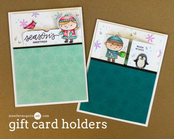 Project Holiday Gift Card Holder Cards