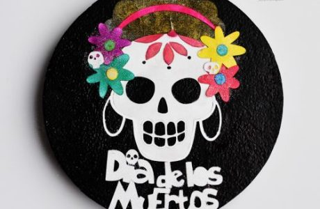Project: Day of The Dead Wall Hanging