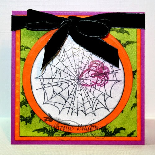 Tutorial: Halloween Card using Pan Pastels