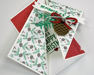 Project: Twisted Gate Fold Card