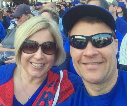 steve and Beth Chicago Cubs