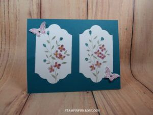 StampinUp All Occassion card made my demo Pam Sadler. Please see more card and gift ideas at www.StampinPinkRose.com