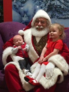 Jack Izzy and Santa