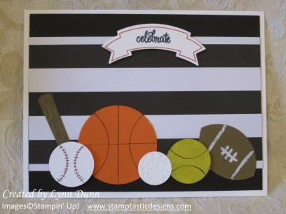 Fun card for sports lovers