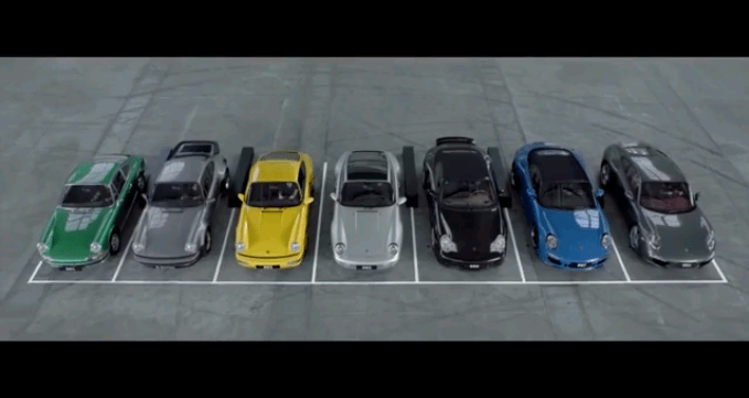 Happy Birthday Porsche 911 (video)