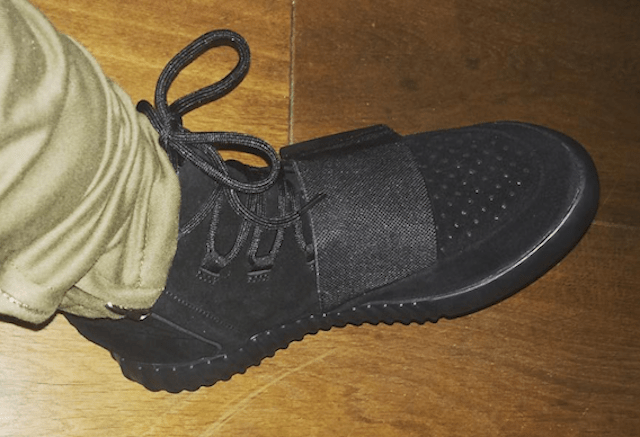 "On-Foot Look at the ""Black"" adidas Yeezy 750 Boost"