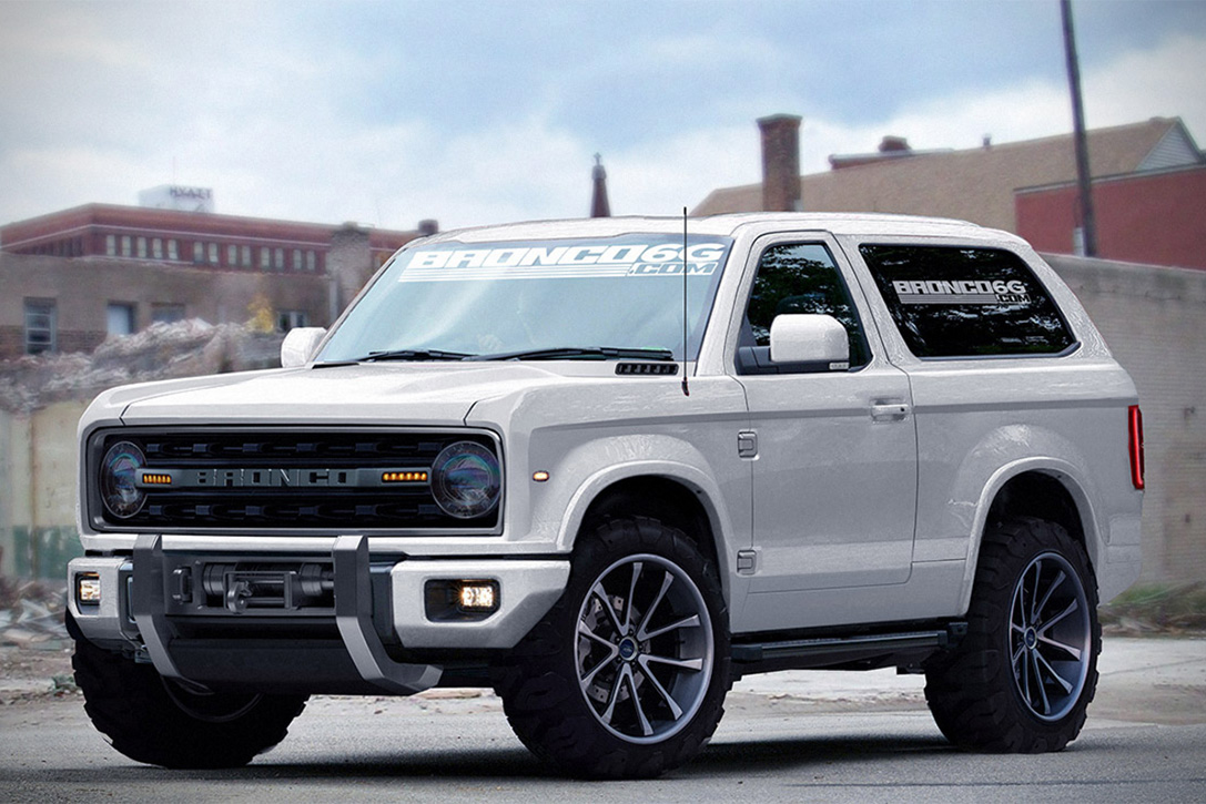 Coolness: 2020 Ford Bronco Concept