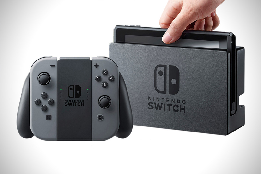 Nintendo Switch (Gaming System)