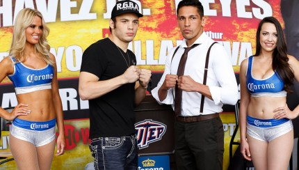 Chavez Jr and Reyes