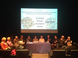 Between Federalism, Autonomy and Centralism, May 2015 (Round Table)