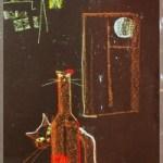 Ночные метаморфозы<br />25х40, картон, пастель, 2007г.