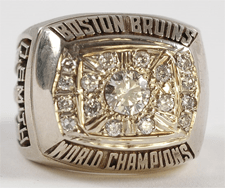 1972 Boston Bruins Stanley Cup Ring - Thumbnail