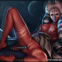 Busty Shaak Ti test new space vibro