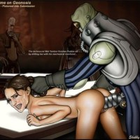 Padme Amidala Naberrie was not expecting that on Geonosis she will be fucked not like queen but like simple whore!