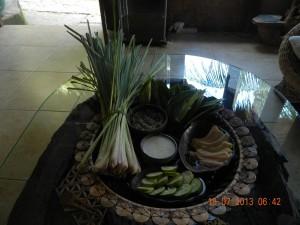 Organic Herbs prepared for the Herbal Bath