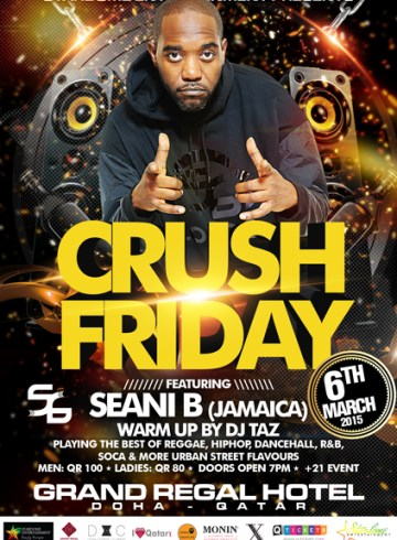 Crush Friday with Seani B