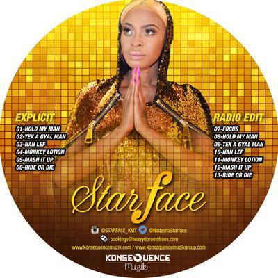 Starface Drops Hardcore Promo CD