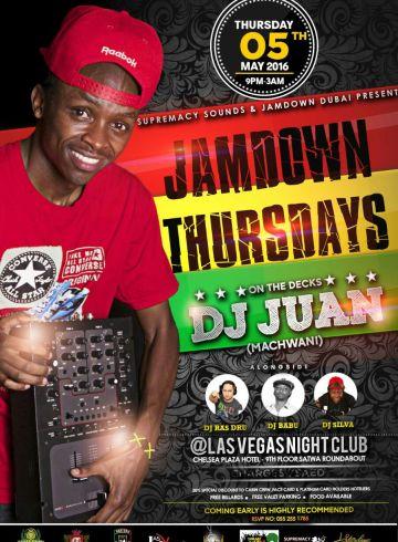 Jamdown Thursdays With Dj Juan Machwani