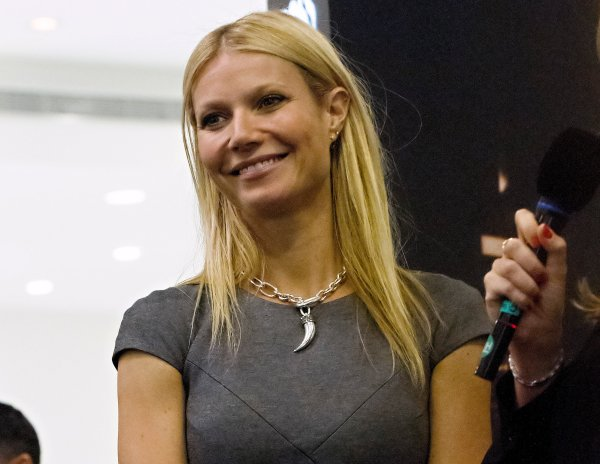 Gwyneth Paltrow Attends Boss Nuit In-Store Appearance And VIP Cocktail Evening